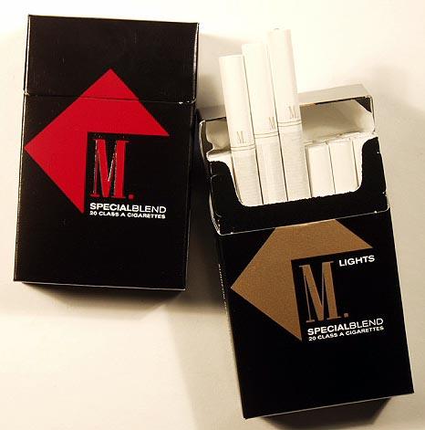 london Parliament cigarettes